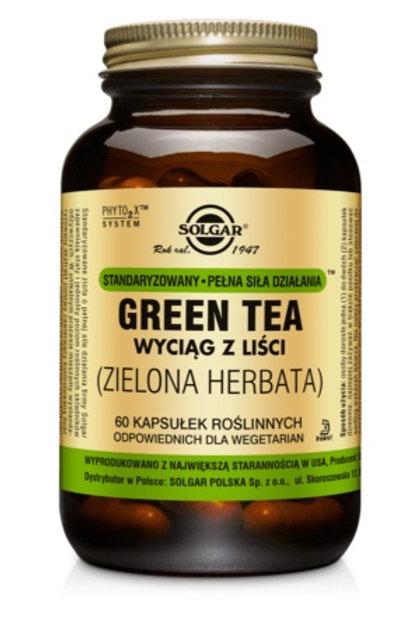 SOLGAR Zielona Herbata SPSD Green Tea 60kaps