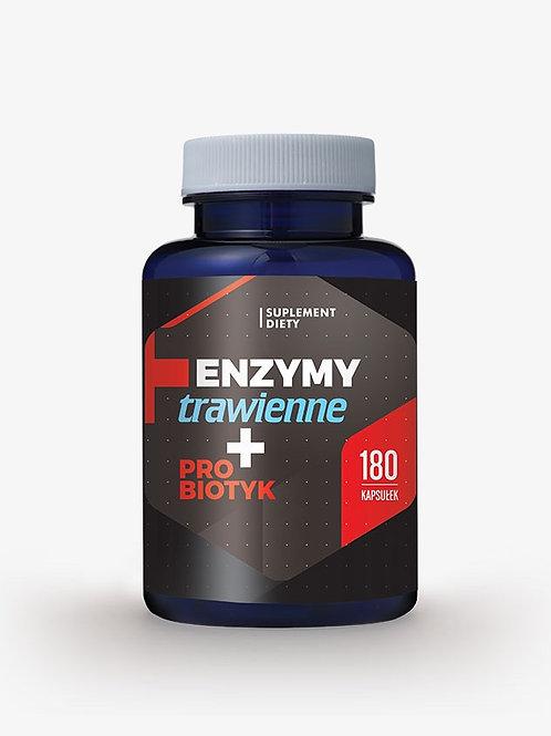 Enzymy trawienne + probiotyk 180kaps.