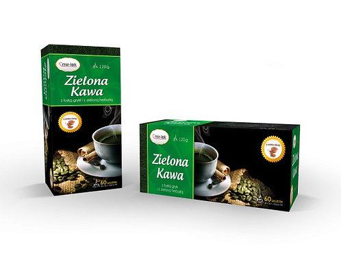 Kawa zielona z łuską gryki 60*2g MIRLEK