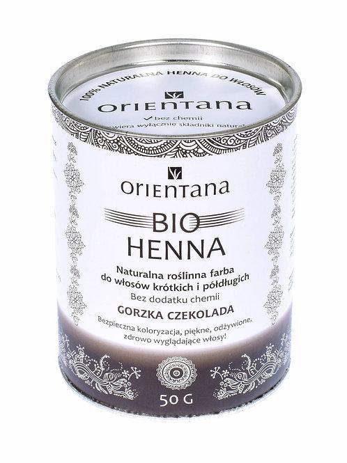 BIO Henna Gorzka Czekolada 50g ORIENTANA