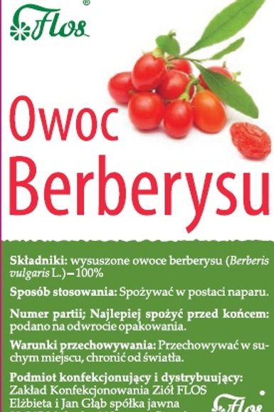 Berberys owoc suszony 50g FLOS