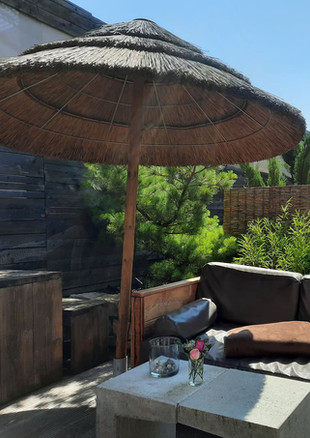 Outdoor-Chillout-Bereich