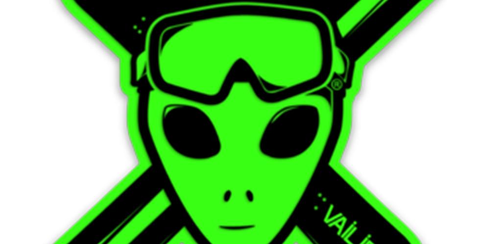 Green Vailiens Sticker