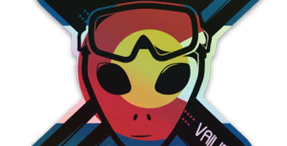HolographicVailiens Sticker