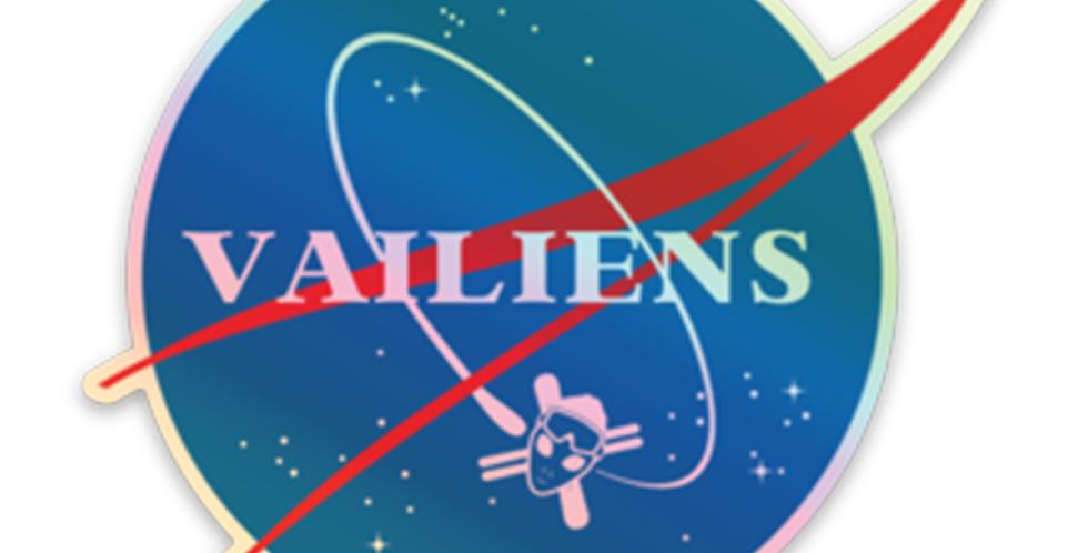 Holographic Aeronautics Sticker