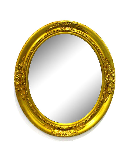Vintage Gold Frame Mirror(Large)