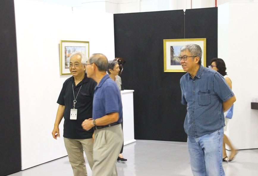 Impression of Three Island Exhibition in ArtSafe Gallery
