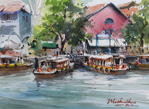 River Taxis at Clarke Quay