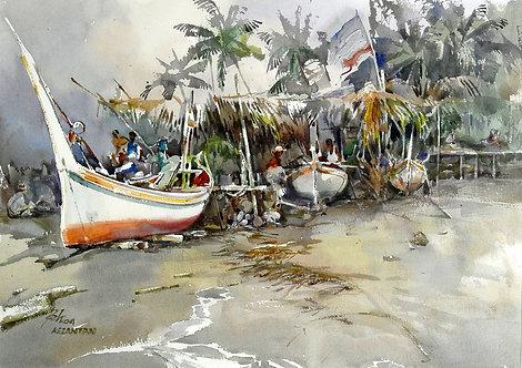 Kelantan Fishing Village