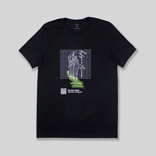 #ChangeTheNarrative Sylvian Hyde Black T-Shirt