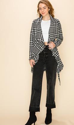 (S)Houndstooth Jacket