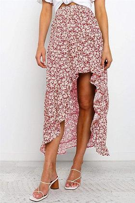 Cherry Flowy Skirt