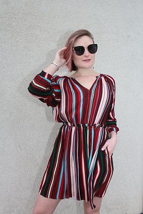 Stripe Dress w/ Pockets