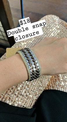 Braided Vegan Leather Bracelet