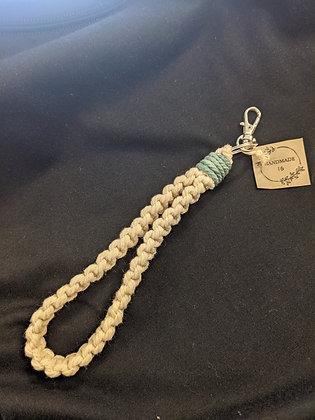 Macrame Bracelet Keychain