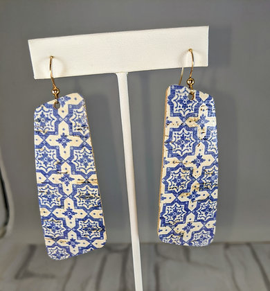 Portuguese Cork Leather Earrings