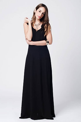 Open Back Cross Maxi