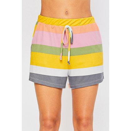Multi Stripe Shorts