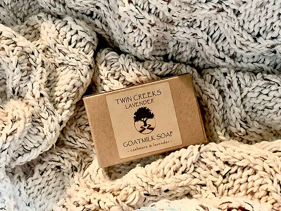 Cashmere Goatmilk Soap