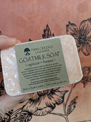 Apricot & Fessia Goatmilk soap