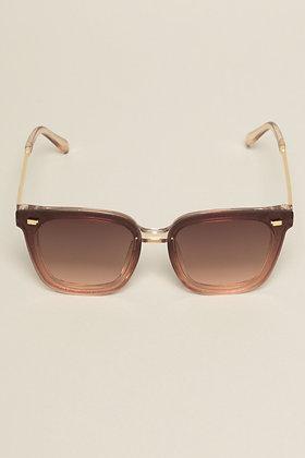 Camel Rectangle Sunglasses
