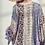 Thumbnail: Floral Border Print Kimono