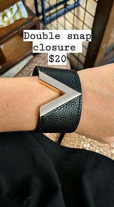 Vegan Leather Bracelet