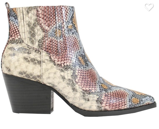 Slash Snake Bootie