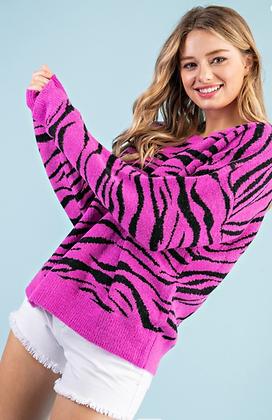 Bright Purple Sweater