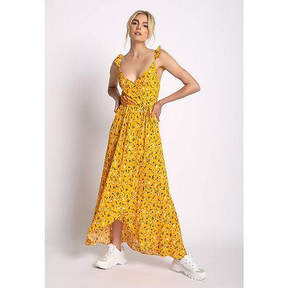 Midi Yellow Dress