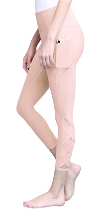 Ballet Pink Accent Leggings