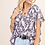 Thumbnail: Purple Flutter Sleeve Top