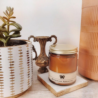 Bohemian Absinthe Soy Candle