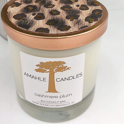 Cashmere Plum Candle