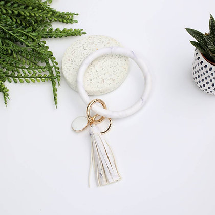 Marble Key Ring
