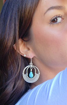 Tribe Turquoise Earrings