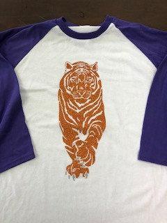 CU Tiger Baseball Tee