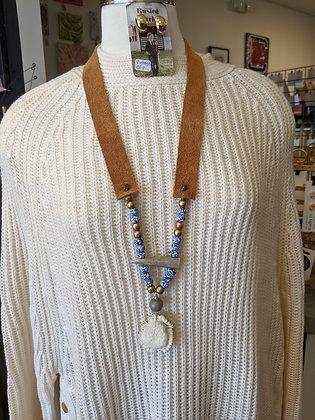 Elk Burr Necklace