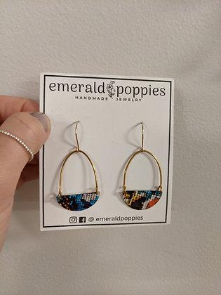Vintage Tin Earrings