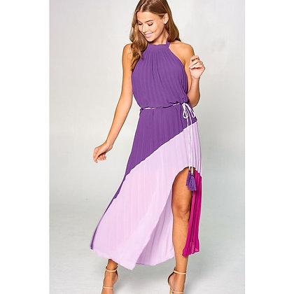 Motala Mock Neck Maxi Dress