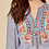 Thumbnail: Embroidered Boho Top