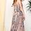 Thumbnail: Peach Coral Maxi Dress