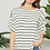 Thumbnail: Ivory Pink Stripe Top