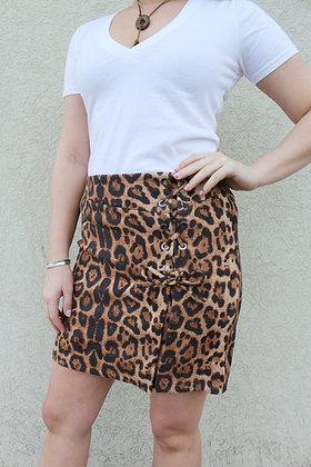 (S)Leopard Miniskirt