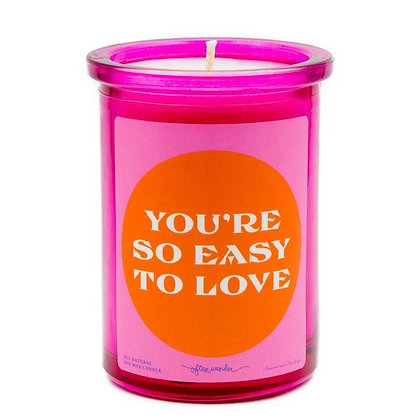 You're Easy To Love Candle