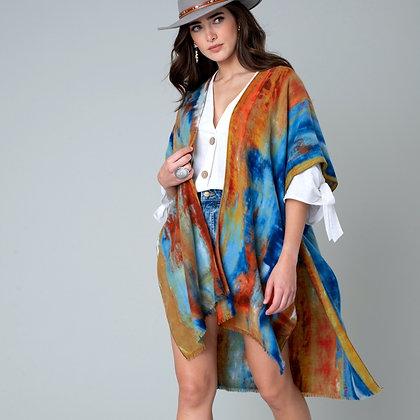 Boho Tiedye Kimono