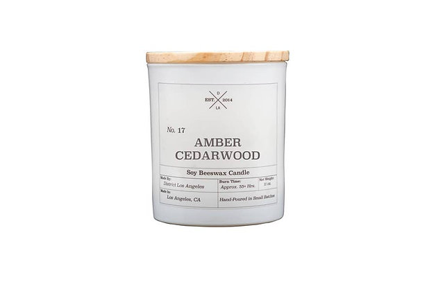 Amber Cedarwood Candle