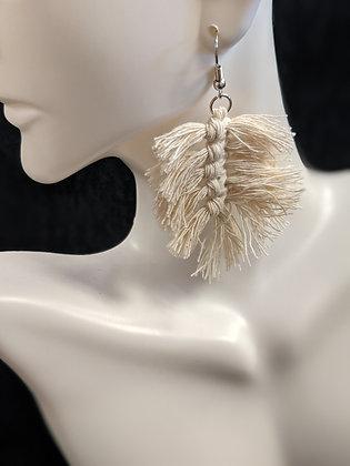 Fishtail Macrame Earrings