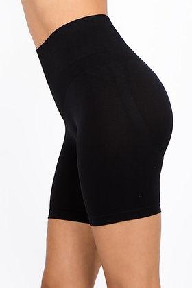 Black Shaper Shorts