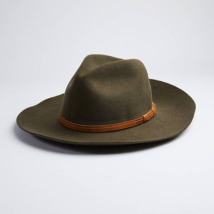 Rancher Style Tobacco Hat Olive